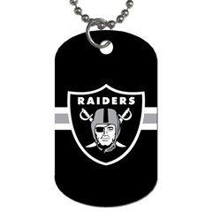 Oakland Raiders National Football League Nfl Teams Afc Dog Tag (two Sided)  by SportMart