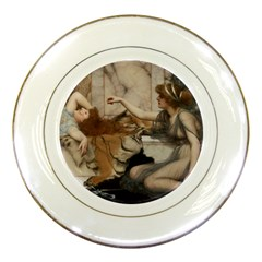 Godwardmischiefandanonipad Porcelain Display Plate by AnonMart