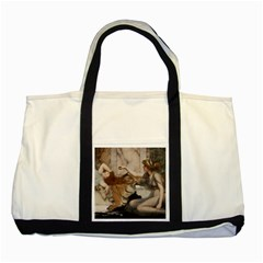 Godwardmischiefandanonipad Two Toned Tote Bag