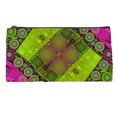 Florescent Pink Green  Pencil Case by OCDesignss