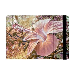 Fantasy Colors Hibiscus Flower Digital Photography Apple Ipad Mini Flip Case by dflcprints