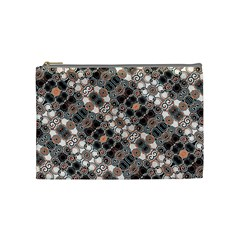Modern Arabesque Pattern Print Cosmetic Bag (medium) by dflcprints