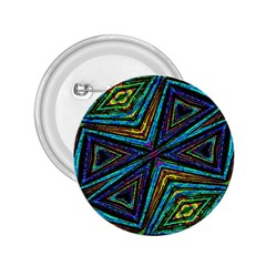 Tribal Style Colorful Geometric Pattern 2 25  Button by dflcprints