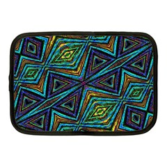 Tribal Style Colorful Geometric Pattern Netbook Sleeve (medium) by dflcprints