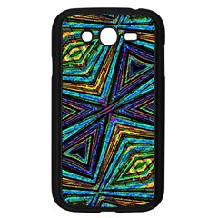 Tribal Style Colorful Geometric Pattern Samsung Galaxy Grand Duos I9082 Case (black)