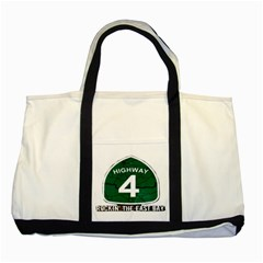 Hwy 4 Website Pic Cut 2 Page4 Two Toned Tote Bag