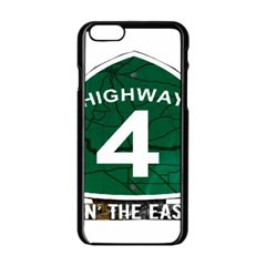 Hwy 4 Website Pic Cut 2 Page4 Apple Iphone 6 Black Enamel Case by tammystotesandtreasures