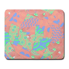 Tropical Summer Fruit Salad Large Mousepad by CrypticFragmentsColors