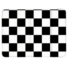 Checkered Flag Race Winner Mosaic Tile Pattern Samsung Galaxy Tab 7  P1000 Flip Case by CrypticFragmentsColors