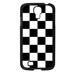 Checkered Flag Race Winner Mosaic Tile Pattern Samsung Galaxy S4 I9500/ I9505 Case (black) by CrypticFragmentsColors