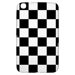 Checkered Flag Race Winner Mosaic Tile Pattern Samsung Galaxy Tab 3 (8 ) T3100 Hardshell Case  by CrypticFragmentsColors