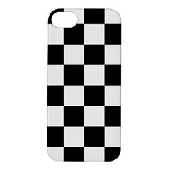 Checkered Flag Race Winner Mosaic Tile Pattern Apple Iphone 5s Hardshell Case by CrypticFragmentsColors
