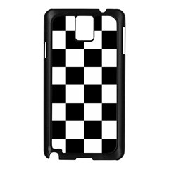 Checkered Flag Race Winner Mosaic Tile Pattern Samsung Galaxy Note 3 N9005 Case (black) by CrypticFragmentsColors
