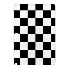 Checkered Flag Race Winner Mosaic Tile Pattern Samsung Galaxy Tab Pro 10 1 Hardshell Case by CrypticFragmentsColors