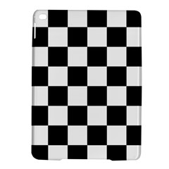 Checkered Flag Race Winner Mosaic Tile Pattern Apple Ipad Air 2 Hardshell Case by CrypticFragmentsColors