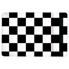 Checkered Flag Race Winner Mosaic Tile Pattern Apple Ipad Air 2 Flip Case by CrypticFragmentsColors
