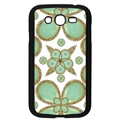 Luxury Decorative Pattern Collage Samsung Galaxy Grand Duos I9082 Case (black) by dflcprints