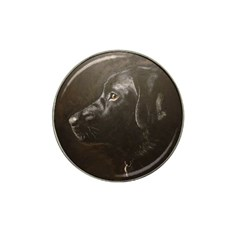 Black Lab Golf Ball Marker 10 Pack (for Hat Clip) by LabsandRetrievers