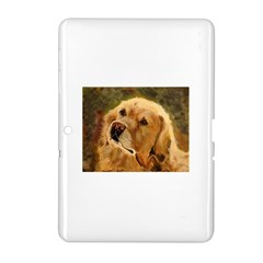 Golden Retriever Samsung Galaxy Tab 2 (10 1 ) P5100 Hardshell Case  by LabsandRetrievers
