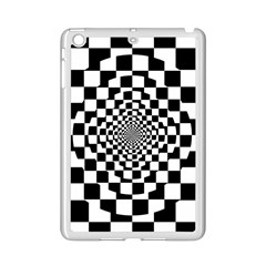 Checkered Flag Race Winner Mosaic Tile Pattern Repeat Apple Ipad Mini 2 Case (white) by CrypticFragmentsColors