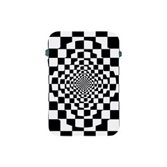 Checkered Flag Race Winner Mosaic Tile Pattern Repeat Apple Ipad Mini Protective Sleeve by CrypticFragmentsColors