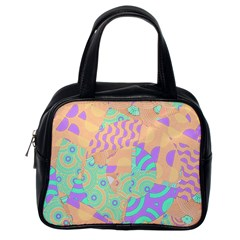 Tropical Summer Fruit Orange Lime Berry Classic Handbag (one Side) by CrypticFragmentsColors