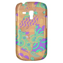 Tropical Summer Fruit Orange Lime Berry Samsung Galaxy S3 Mini I8190 Hardshell Case by CrypticFragmentsColors