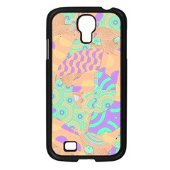 Tropical Summer Fruit Orange Lime Berry Samsung Galaxy S4 I9500/ I9505 Case (black) by CrypticFragmentsColors