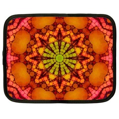 Florescent Abstract Netbook Sleeve (xl) by OCDesignss