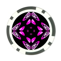 Abstract Pain Frustration Poker Chip (10 Pack) by FunWithFibro