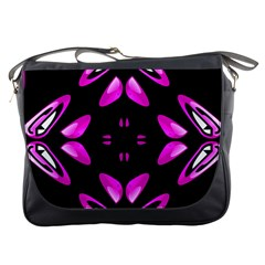 Abstract Pain Frustration Messenger Bag by FunWithFibro