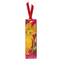 Tropical Hawaiian Style Lilies Collage Small Bookmark by dflcprints