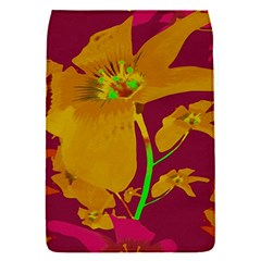 Tropical Hawaiian Style Lilies Collage Removable Flap Cover (small) by dflcprints