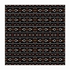 Tribal Dark Geometric Pattern03 Glasses Cloth (medium, Two Sided) by dflcprints