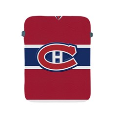 Montreal Canadiens Jersey Style  Apple Ipad Protective Sleeve