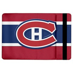 Montreal Canadiens Jersey Style  Apple Ipad Air 2 Flip Case by blueshirtdesigns