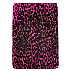 Hot Pink Leopard Print  Removable Flap Cover (large) by OCDesignss