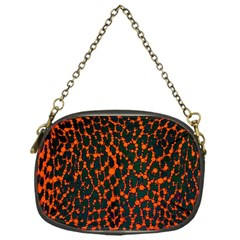 Florescent Leopard Print  Chain Purse (one Side) by OCDesignss