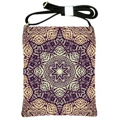 Crazy Beautiful Abstract  Shoulder Sling Bag by OCDesignss