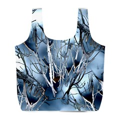 Abstract Of Frozen Bush Reusable Bag (l) by canvasngiftshop