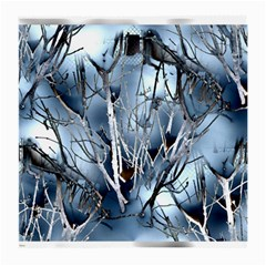 Abstract Of Frozen Bush Glasses Cloth (medium) by canvasngiftshop