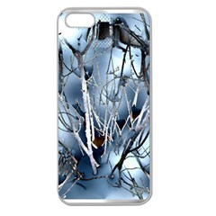 Abstract Of Frozen Bush Apple Seamless Iphone 5 Case (clear) by canvasngiftshop