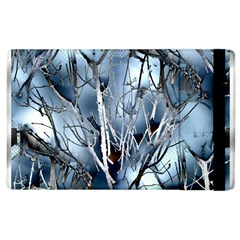 Abstract Of Frozen Bush Apple Ipad 3/4 Flip Case by canvasngiftshop