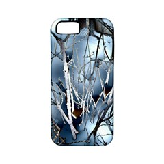 Abstract Of Frozen Bush Apple Iphone 5 Classic Hardshell Case (pc+silicone) by canvasngiftshop
