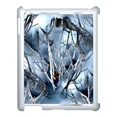 Abstract Of Frozen Bush Apple Ipad 3/4 Case (white) by canvasngiftshop