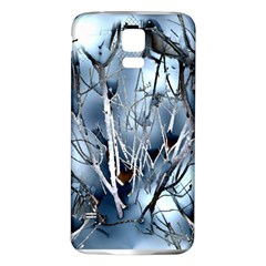 Abstract Of Frozen Bush Samsung Galaxy S5 Back Case (white) by canvasngiftshop