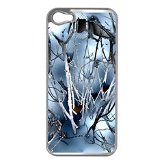 Abstract Of Frozen Bush Apple Iphone 5 Case (silver) by canvasngiftshop