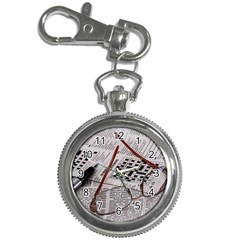 Crossword Genius Key Chain Watch by StuffOrSomething