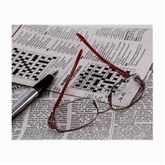 Crossword Genius Glasses Cloth (small) by StuffOrSomething