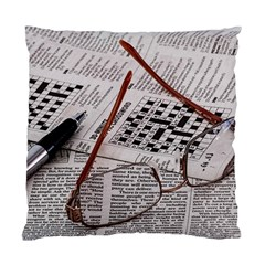 Crossword Genius Cushion Case (two Sided)  by StuffOrSomething